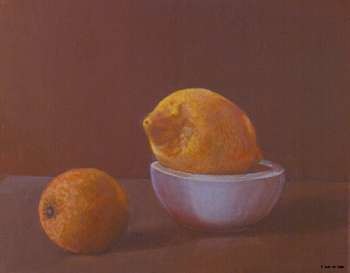lemon & orange, Lucas van Eeghen Copyright � 2004